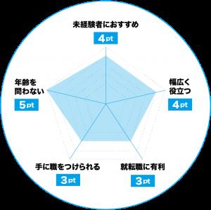 FP(ファイナンシャルプランナー)のおすすめポイントチャート